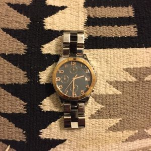 Marc Jacobs dual tone watch.